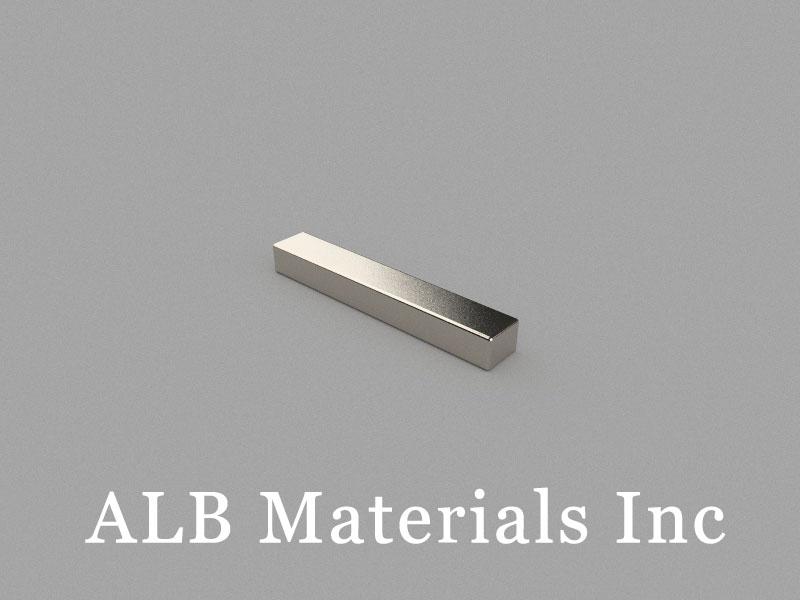 B25x4x3mm Neodymium Magnet, 25 x 4 x 3mm Block Magnet