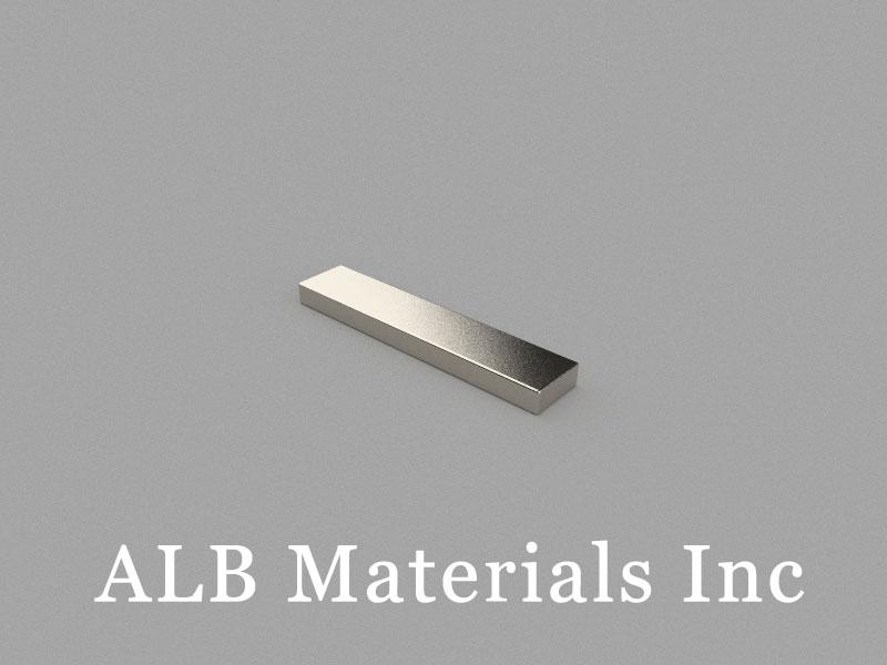 B25x5x2mm Neodymium Magnet, 25 x 5 x 2mm Block Magnet
