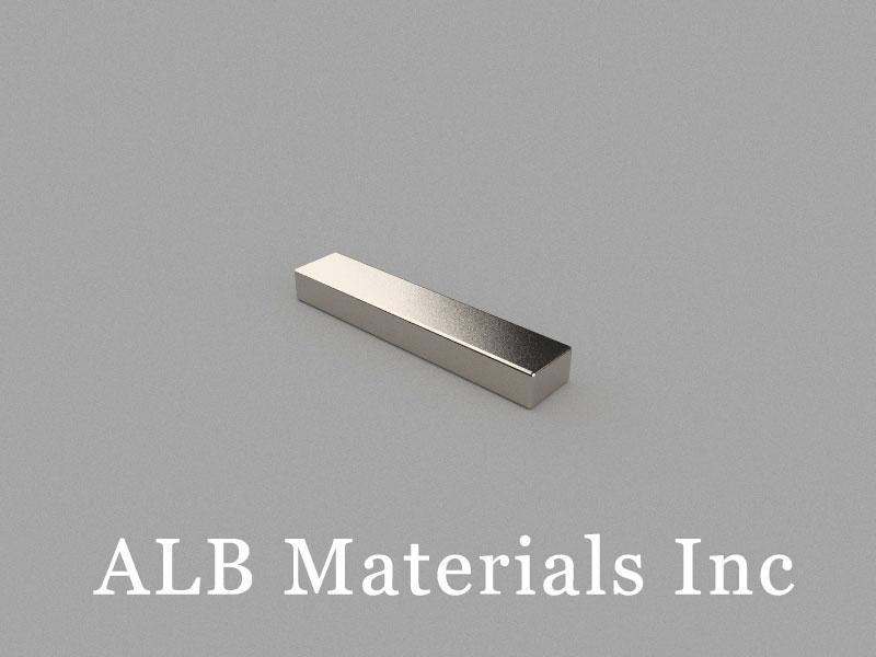 B25x5x3mm Neodymium Magnet, 25 x 5 x 3mm Block Magnet