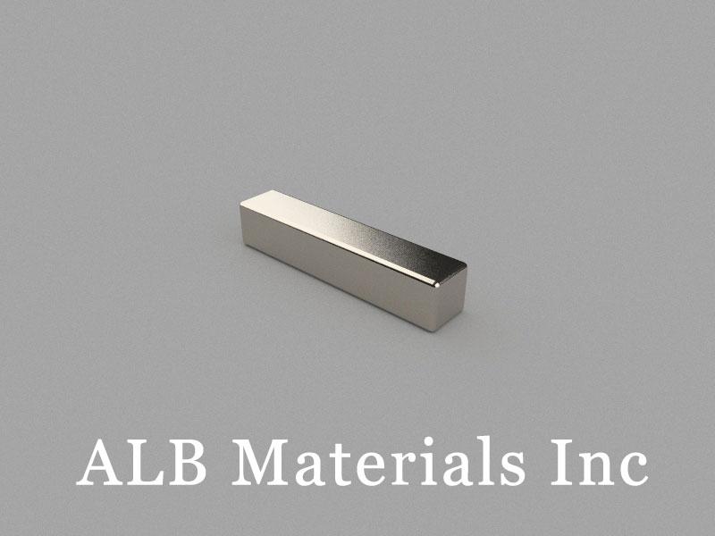 B25x5x5mm Neodymium Magnet, 25 x 5 x 5mm Block Magnet