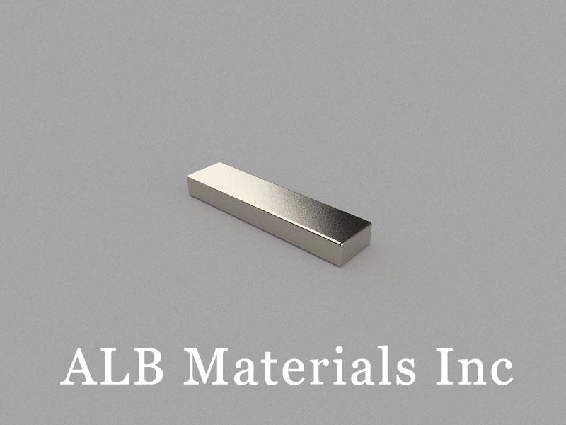 B25x6x3mm Neodymium Magnet, 25 x 6 x 3mm Block Magnet