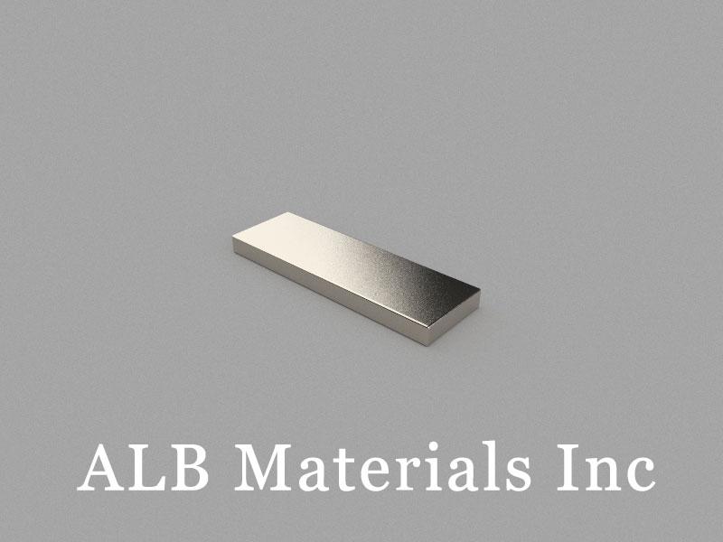 B25x8x2mm Neodymium Magnet, 25 x 8 x 2mm Block Magnet