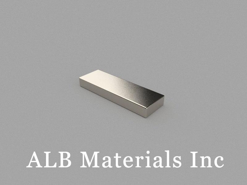 B25x8x3mm Neodymium Magnet, 25 x 8 x 3mm Block Magnet