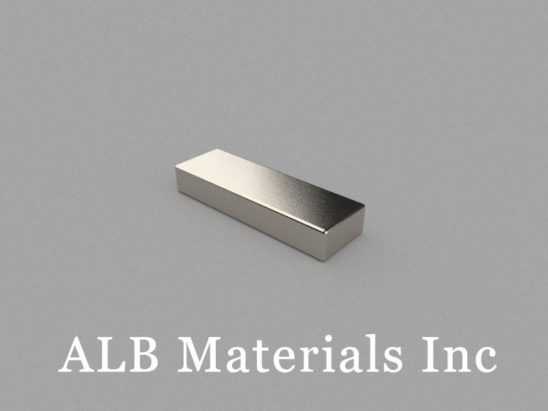 B25x8x4mm Neodymium Magnet, 25 x 8 x 4mm Block Magnet