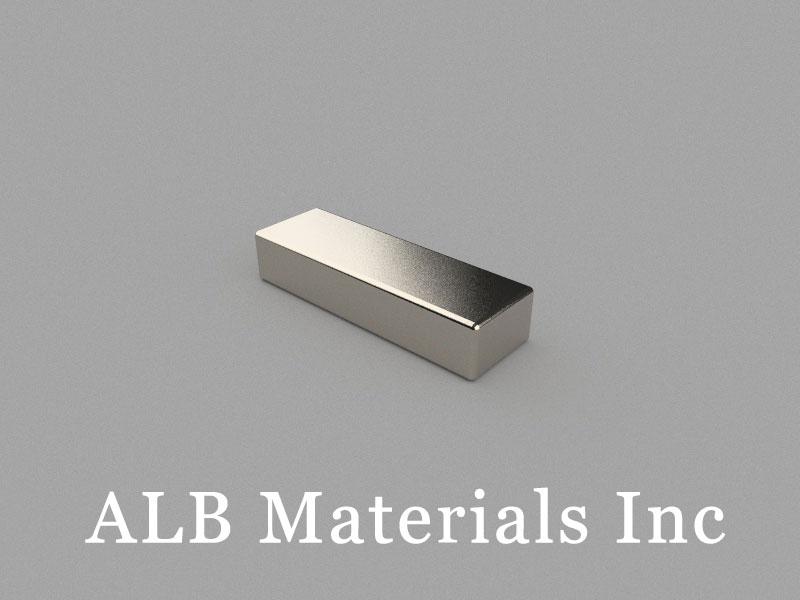 B25x8x5mm Neodymium Magnet, 25 x 8 x 5mm Block Magnet