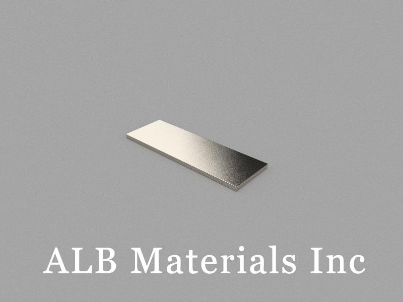 B30x10x1mm Neodymium Magnet, 30 x 10 x 1mm Block Magnet