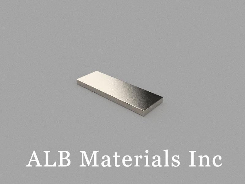 B30x10x2mm Neodymium Magnet, 30 x 10 x 2mm Block Magnet