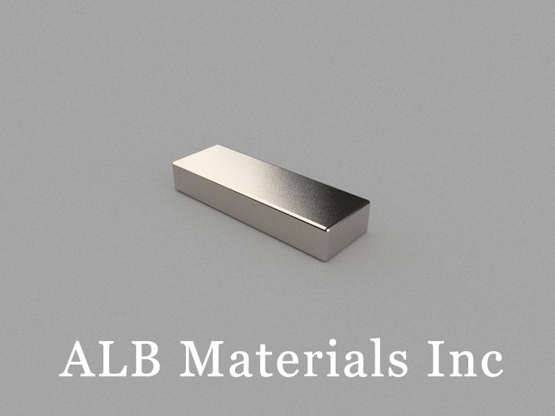 B-W10H5L30-N35 Neodymium Magnet, 30x10x5mm Block Magnet