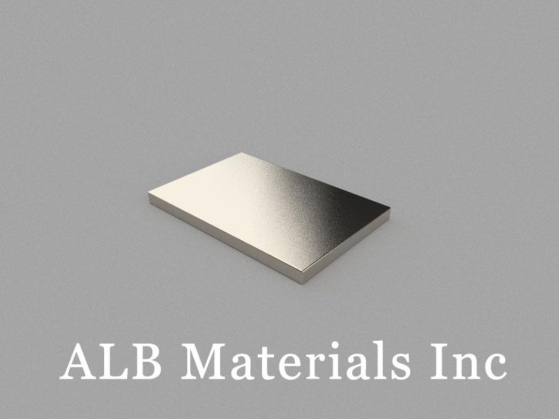 B30x20x2mm Neodymium Magnet, 30 x 20 x 2mm Block Magnet