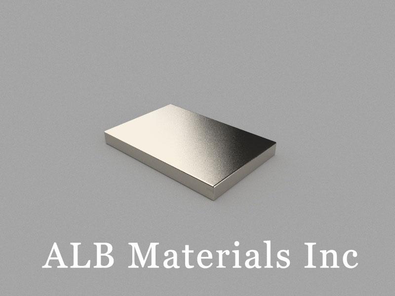 B30x20x3mm Neodymium Magnet, 30 x 20 x 3mm Block Magnet