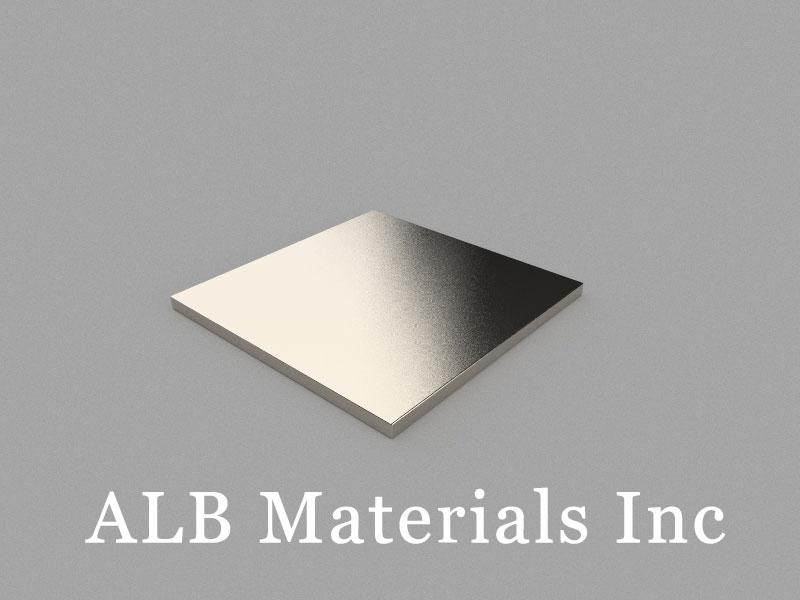 B30x30x1.5mm Neodymium Magnet, 30 x 30 x 1.5mm Block Magnet