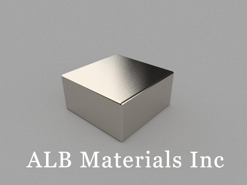 B-W30H15L30-N52 Neodymium Magnet, 30x30x15mm Block Magnet