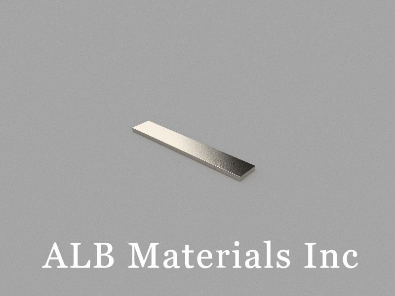 B30x5x1mm Neodymium Magnet, 30 x 5 x 1mm Block Magnet