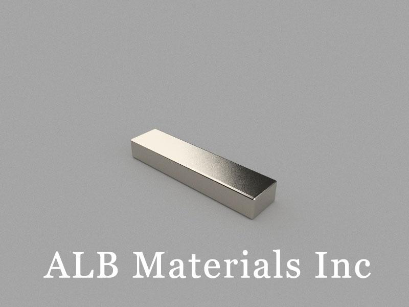 B39x9x5.5mm Neodymium Magnet, 39 x 9 x 5.5mm Block Magnet