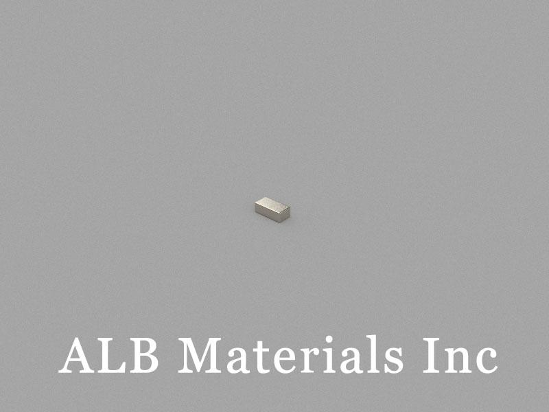 B3x1.5x1mm Neodymium Magnet, 3 x 1.5 x 1mm Block Magnet