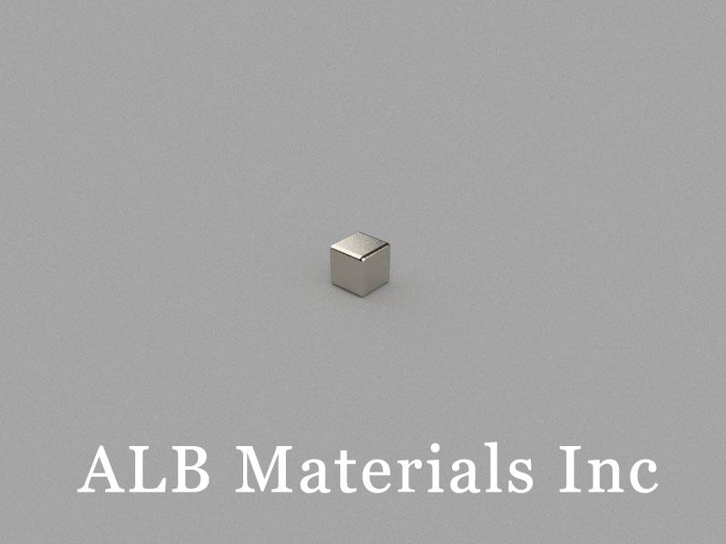 B3x3x3mm Neodymium Magnet, 3 x 3 x 3mm Block Magnet