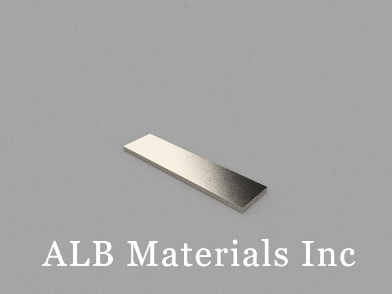 B40x10x1.5mm Neodymium Magnet, 40 x 10 x 1.5mm Block Magnet