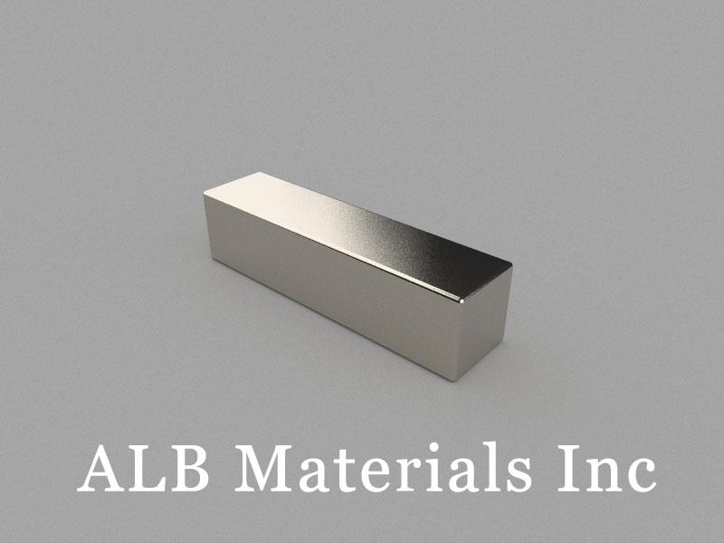 B-W10H10L40-N48 Neodymium Magnet, 40x10x10mm Block Magnet