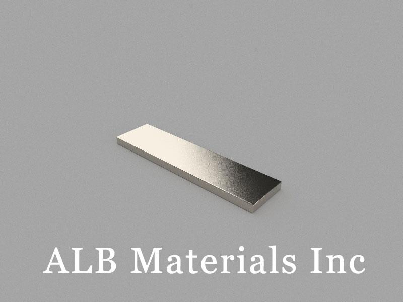 B40x10x2mm Neodymium Magnet, 40 x 10 x 2mm Block Magnet