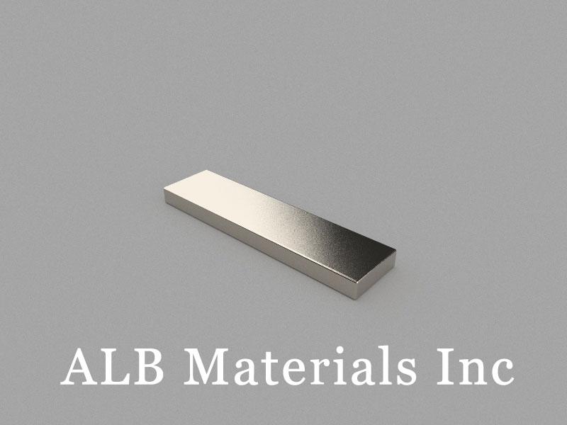 B40x10x3mm Neodymium Magnet, 40 x 10 x 3mm Block Magnet
