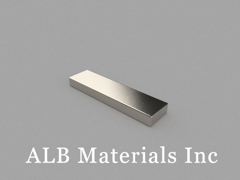 B40x10x4mm Neodymium Magnet, 40 x 10 x 4mm Block Magnet
