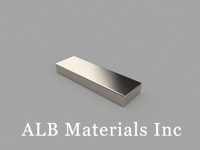 B40x12x5mm Neodymium Magnet, 40 x 12 x 5mm Block Magnet