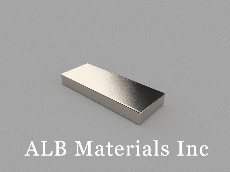B40x15x5mm Neodymium Magnet, 40 x 15 x 5mm Block Magnet