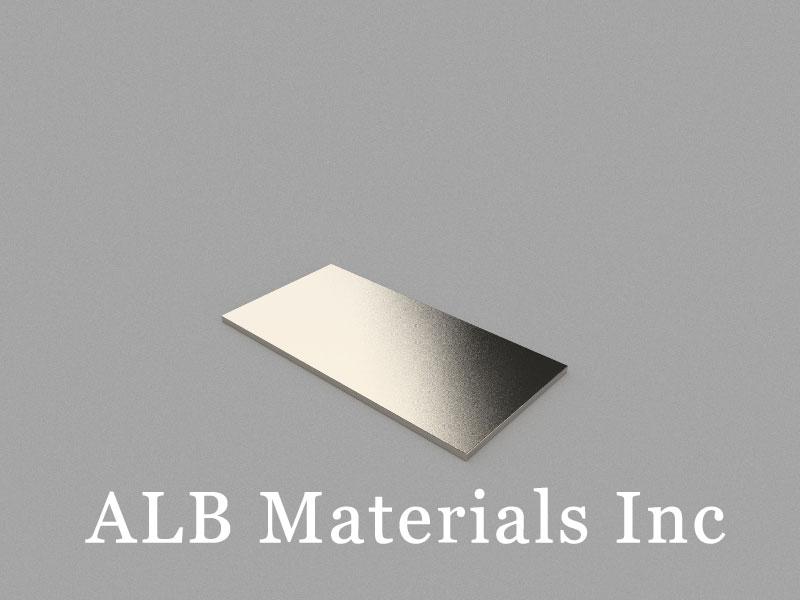 B40x20x1mm Neodymium Magnet, 40 x 20 x 1mm Block Magnet