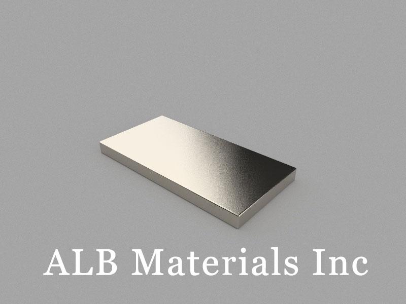 B40x20x3mm Neodymium Magnet, 40 x 20 x 3mm Block Magnet