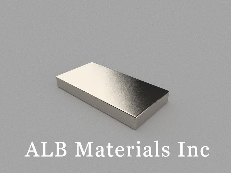 B40x20x5mm Neodymium Magnet, 40 x 20 x 5mm Block Magnet