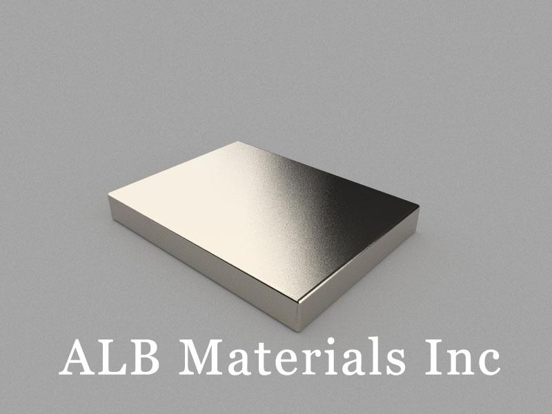 B40x30x5mm Neodymium Magnet, 40 x 30 x 5mm Block Magnet
