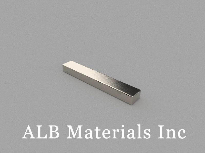 B40x6x4mm Neodymium Magnet, 40 x 6 x 4mm Block Magnet
