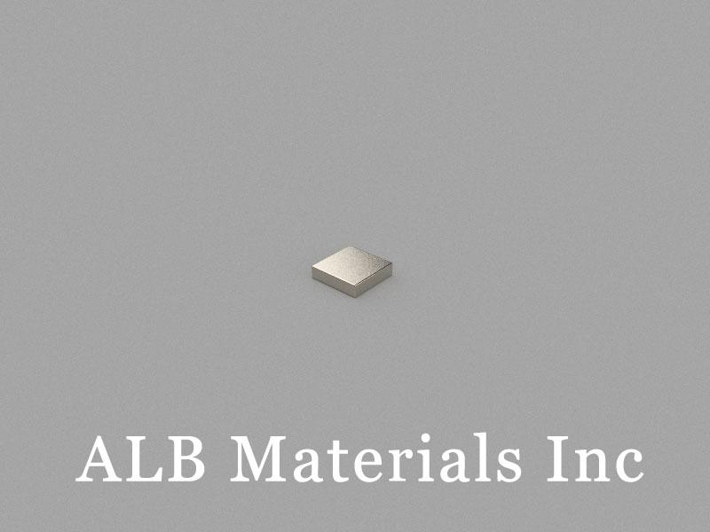 B4x4x1mm Neodymium Magnet, 4 x 4 x 1mm Block Magnet