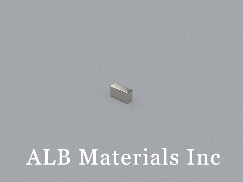 B-W2H3L5.6-N52 Neodymium Magnet, 5.6x2x3mm Block Magnet