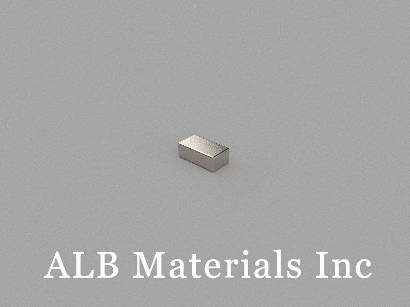 B5.6x3x2mm Neodymium Magnet, 5.6 x 3 x 2mm Block Magnet