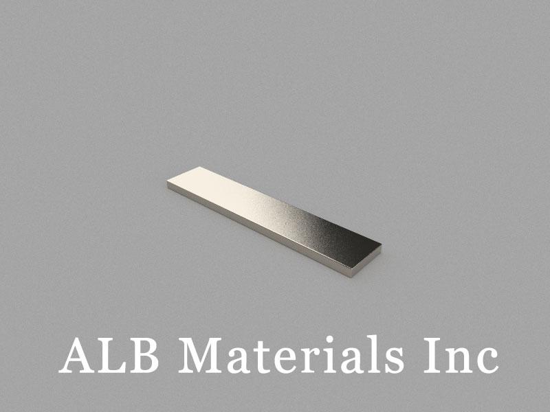 B50x10x2mm Neodymium Magnet, 50 x 10 x 2mm Block Magnet