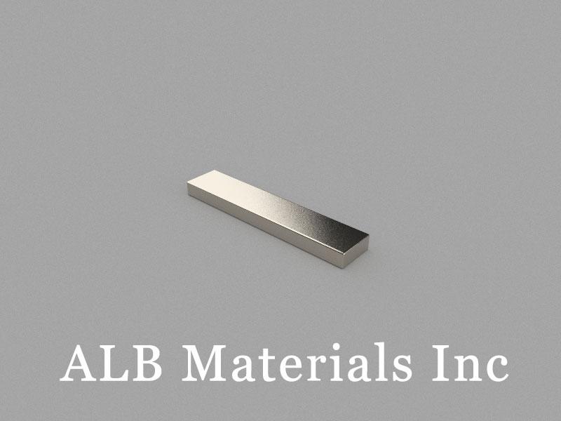 B50x10x4mm Neodymium Magnet, 50 x 10 x 4mm Block Magnet