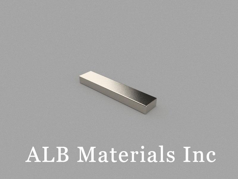 B50x10x5mm Neodymium Magnet, 50 x 10 x 5mm Block Magnet