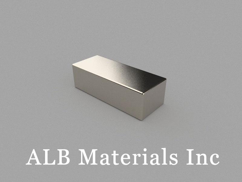 B50x20x15mm Neodymium Magnet, 50 x 20 x 15mm Block Magnet