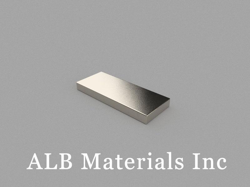 B50x20x5mm Neodymium Magnet, 50 x 20 x 5mm Block Magnet