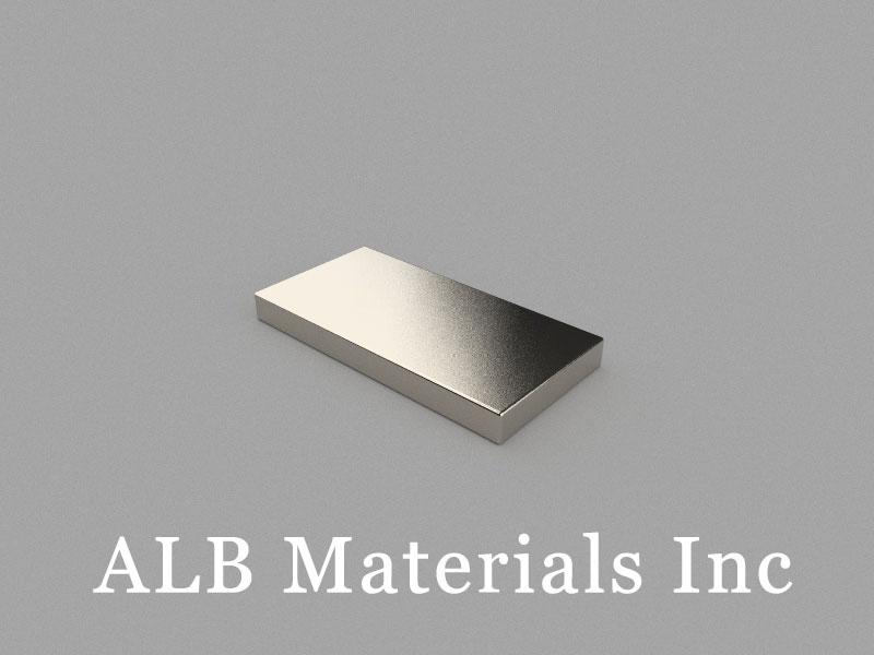 B50x25x5mm Neodymium Magnet, 50 x 25 x 5mm Block Magnet