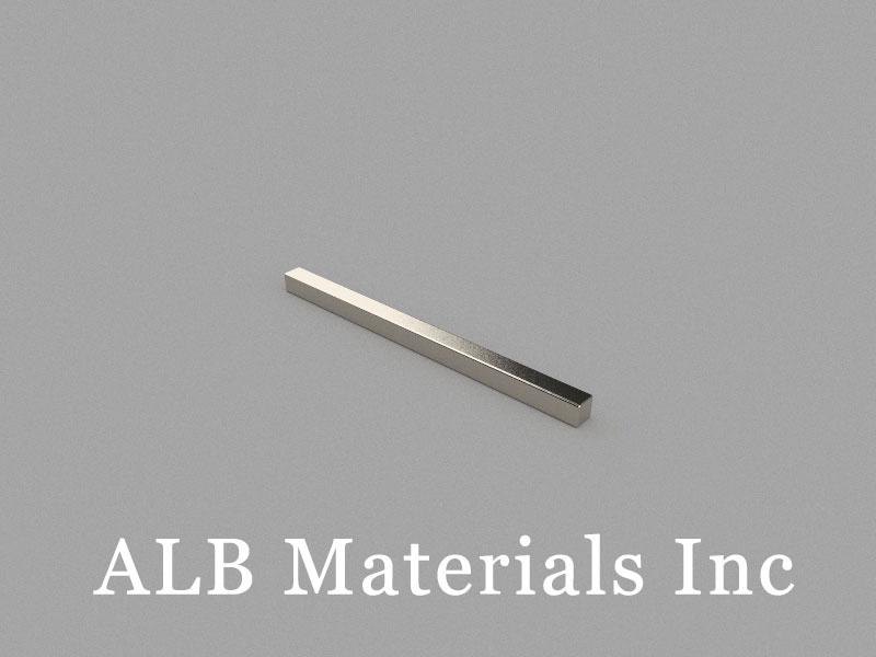 B50x3x3mm Neodymium Magnet, 50 x 3 x 3mm Block Magnet