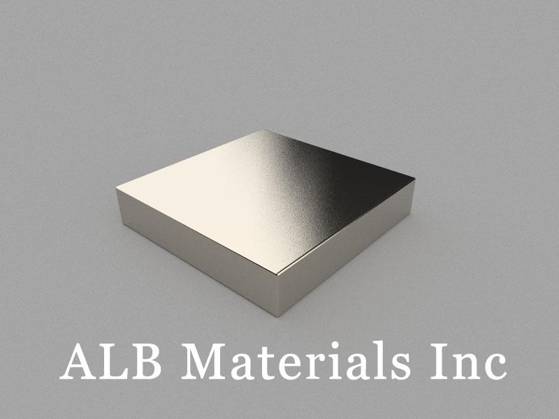 B50x50x10mm Neodymium Magnet, 50 x 50 x 10mm Block Magnet