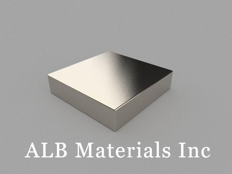 B-W50H12L50-N52 Neodymium Magnet, 50x50x12mm Block Magnet