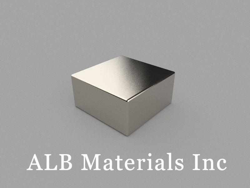 B-W50H25L50-N48 Neodymium Magnet, 50x50x25mm Block Magnet