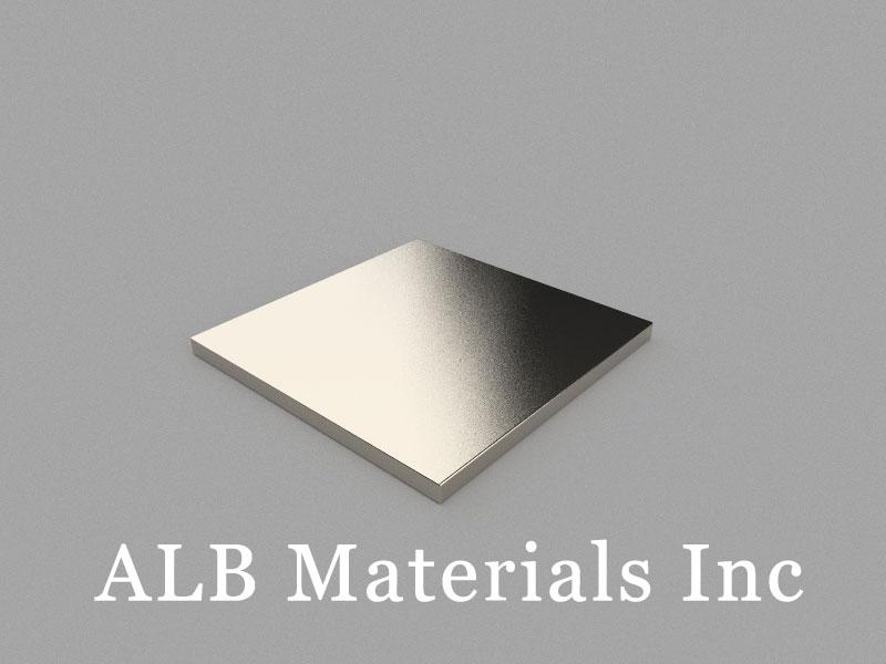 B50x50x3mm Neodymium Magnet, 50 x 50 x 3mm Block Magnet