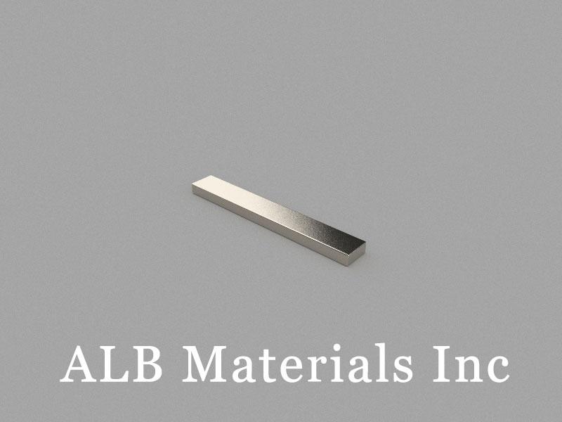 B50x7x3mm Neodymium Magnet, 50 x 7 x 3mm Block Magnet