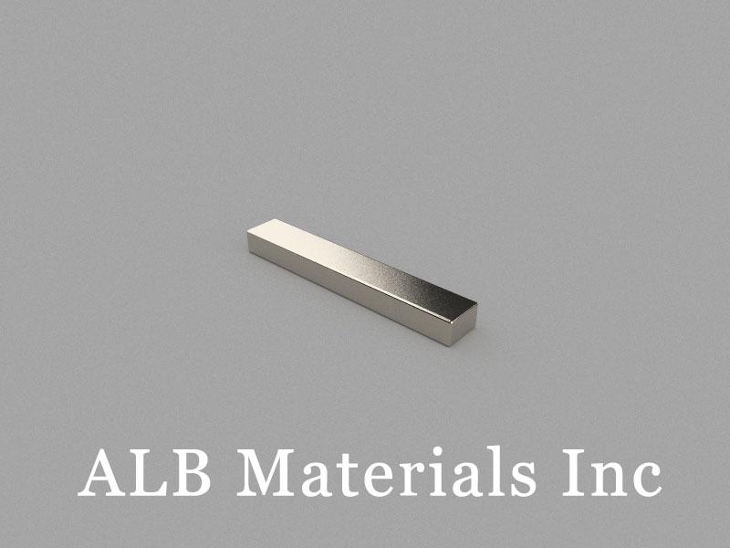 B50x8x5mm Neodymium Magnet, 50 x 8 x 5mm Block Magnet