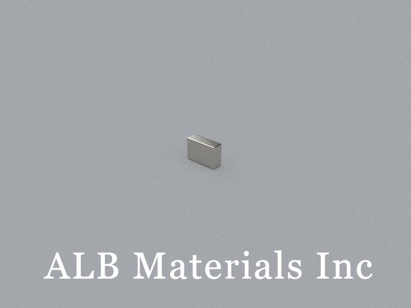 B-W1.7H3.5L5-N50 Neodymium Magnet, 5x1.7x3.5mm Block Magnet