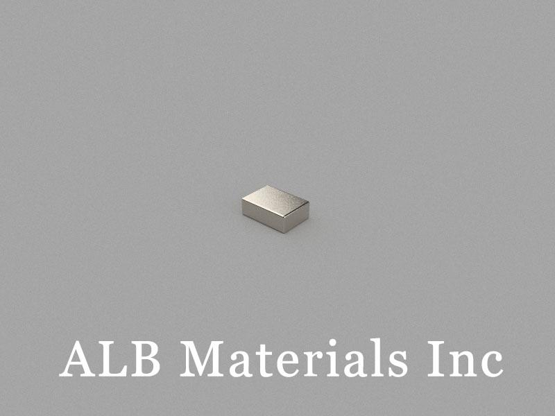B5x3.5x1.7mm Neodymium Magnet, 5 x 3.5 x 1.7mm Block Magnet